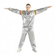 Costum unisex Sauna Suit cu efect de slabire