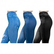 Set 3 colanti Slim N Lift Carresse Jeans