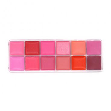 Paleta Lipstick profesional 12 nuante Matte Romantic Beauty