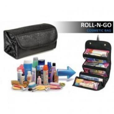 Geanta-organizator pentru cosmetice make-up si accesorii Roll-N-Go