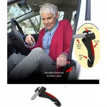 Maner ajutator auto multifunctional si 2 LED-uri